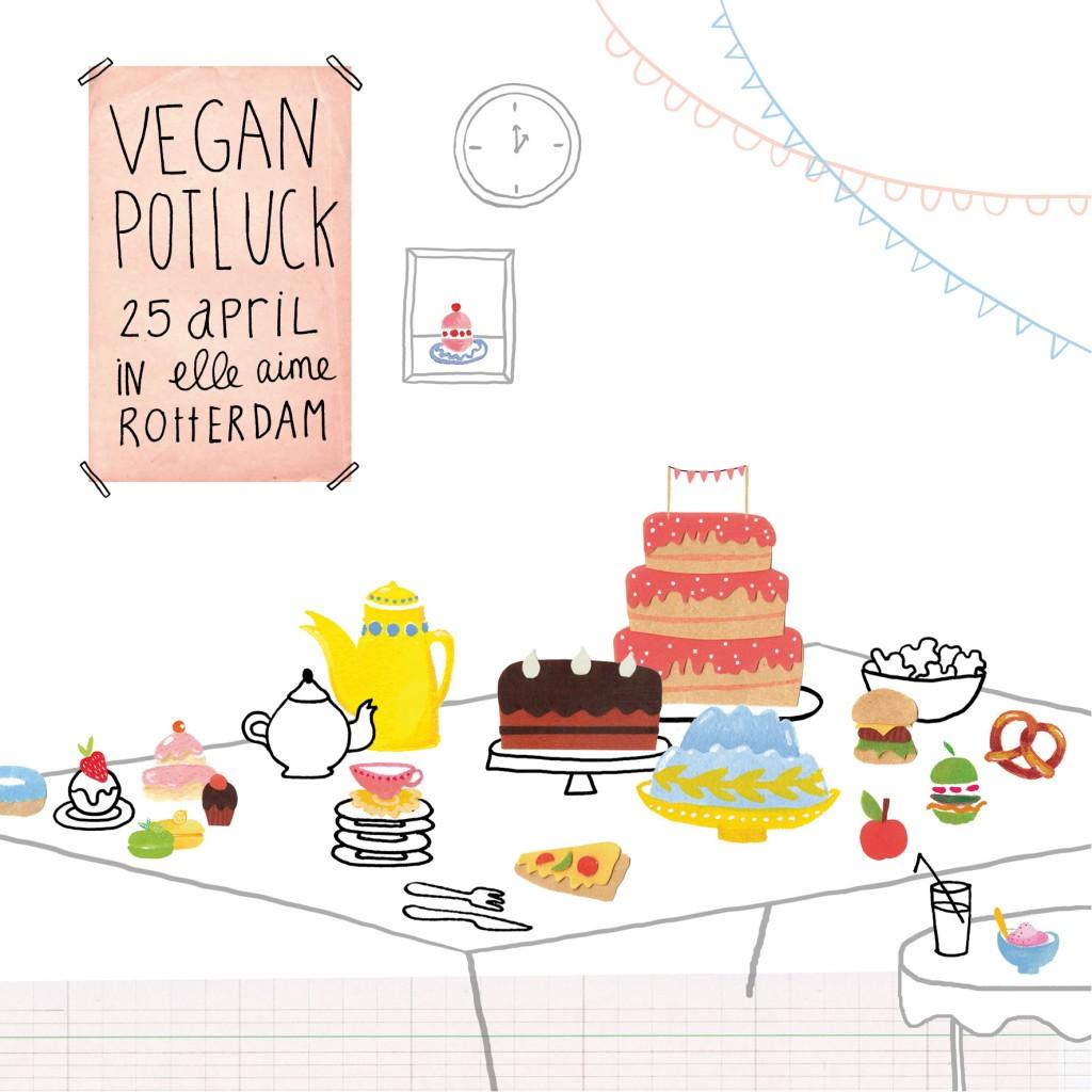 Vegan potluck